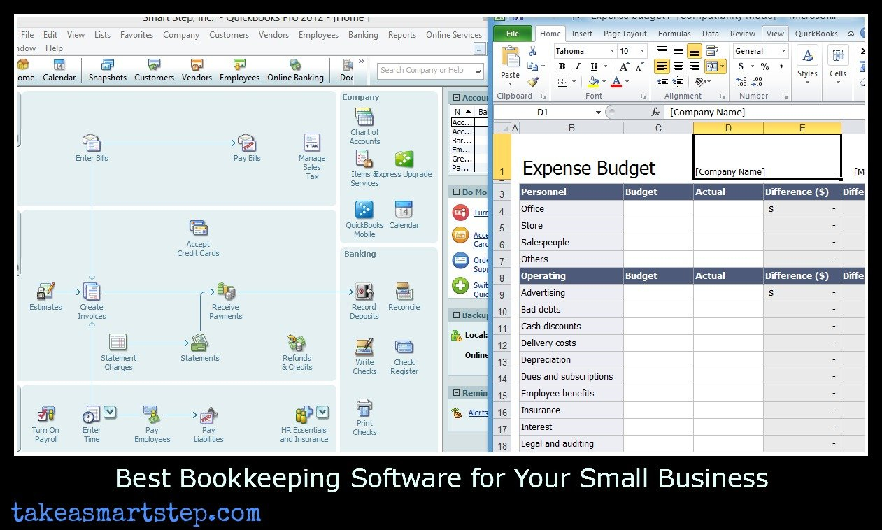 Easy Ways To Track Small Business Expenses And Income   Take A Smart ... Also How To Track Expenses In Excel