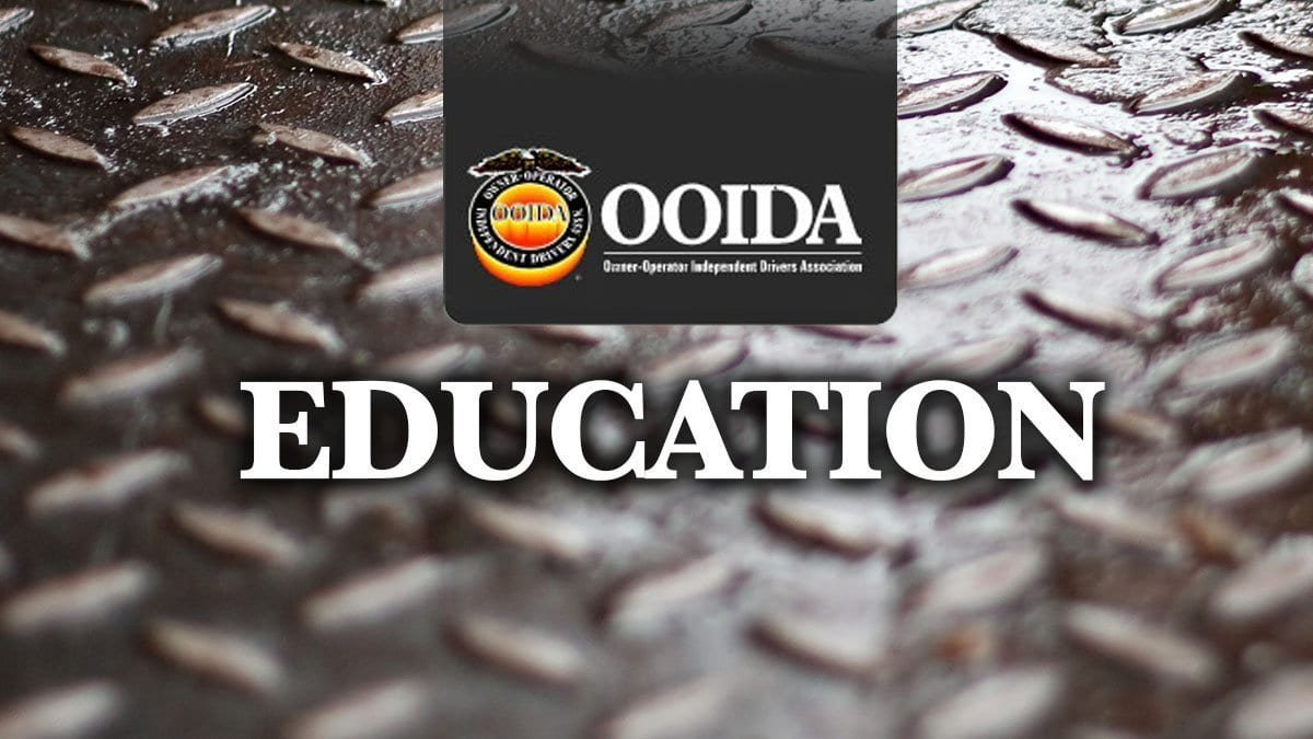 Education (Ooida) - Transportation Nation Network Along With Ooida Cost Per Mile Spreadsheet