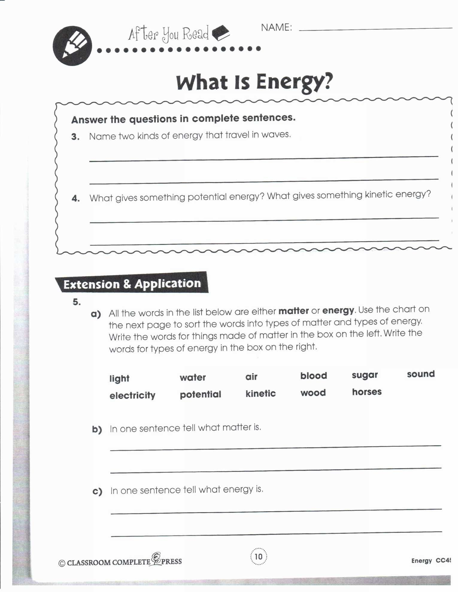 Electrical Power And Energy Worksheet  Briefencounters With Electrical Power And Energy Worksheet