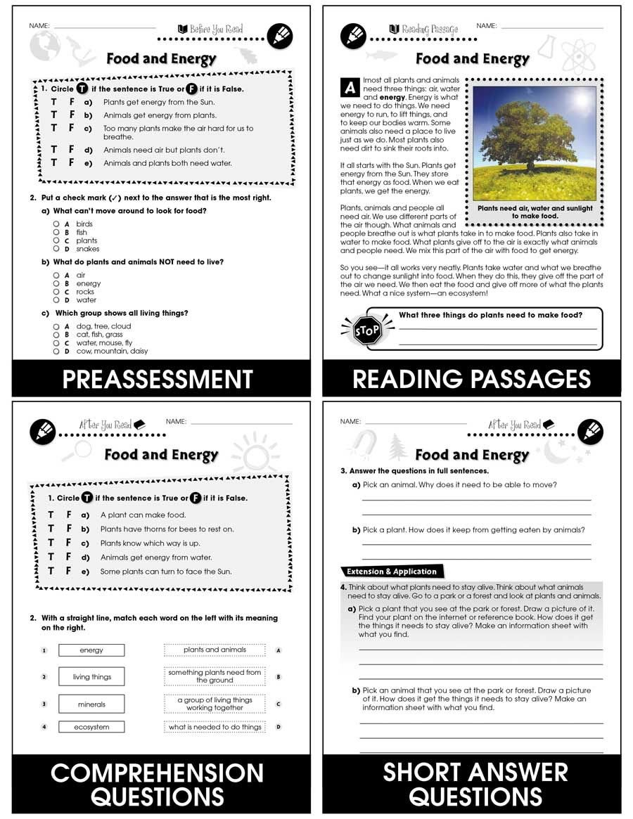 Energy From The Sun Worksheet Answers  Briefencounters For Energy From The Sun Worksheet Answers