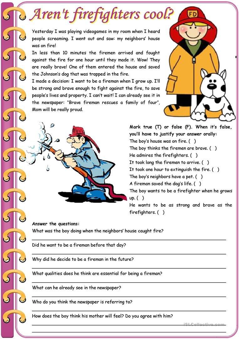 English Esl Efl Worksheets Madeteachers For Teachers X80889 For Esl Reading Comprehension Worksheets For Adults