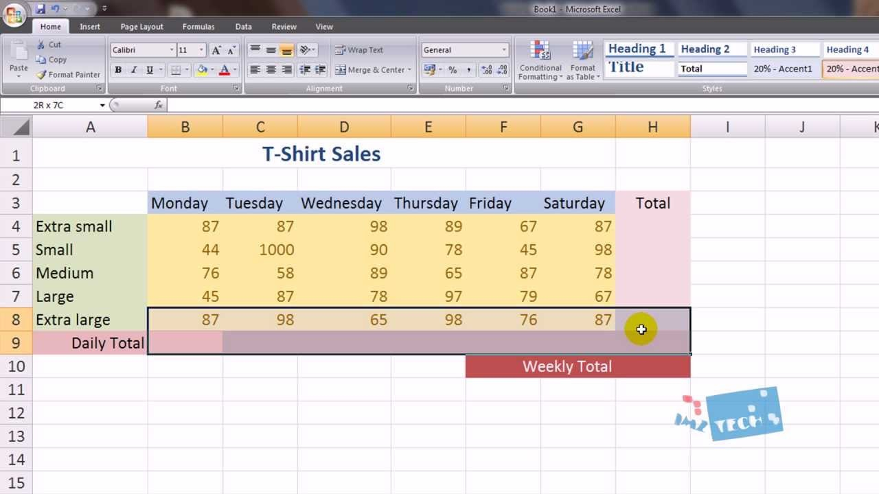 Excel For Beginners (Spreadsheets) Hd   Youtube Pertaining To How To Set Up An Excel Spreadsheet