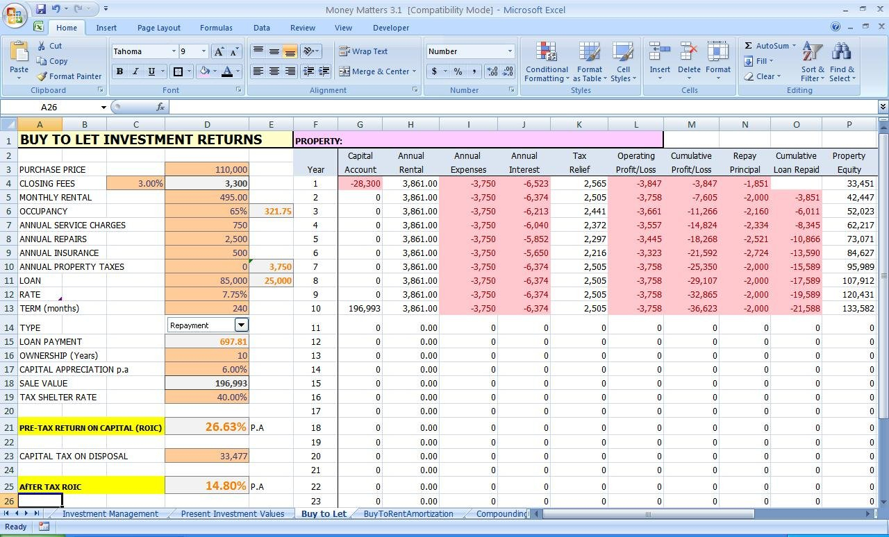 Excel: Improve Your Personal Finances Inside Cost Savings Spreadsheet Template