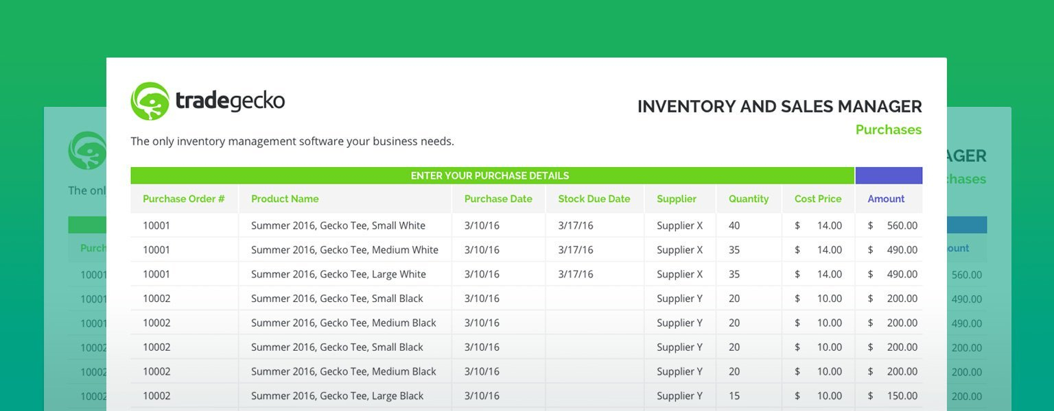 Excel Inventory Management : A Free Guide & Template Within Free Inventory Control Spreadsheet