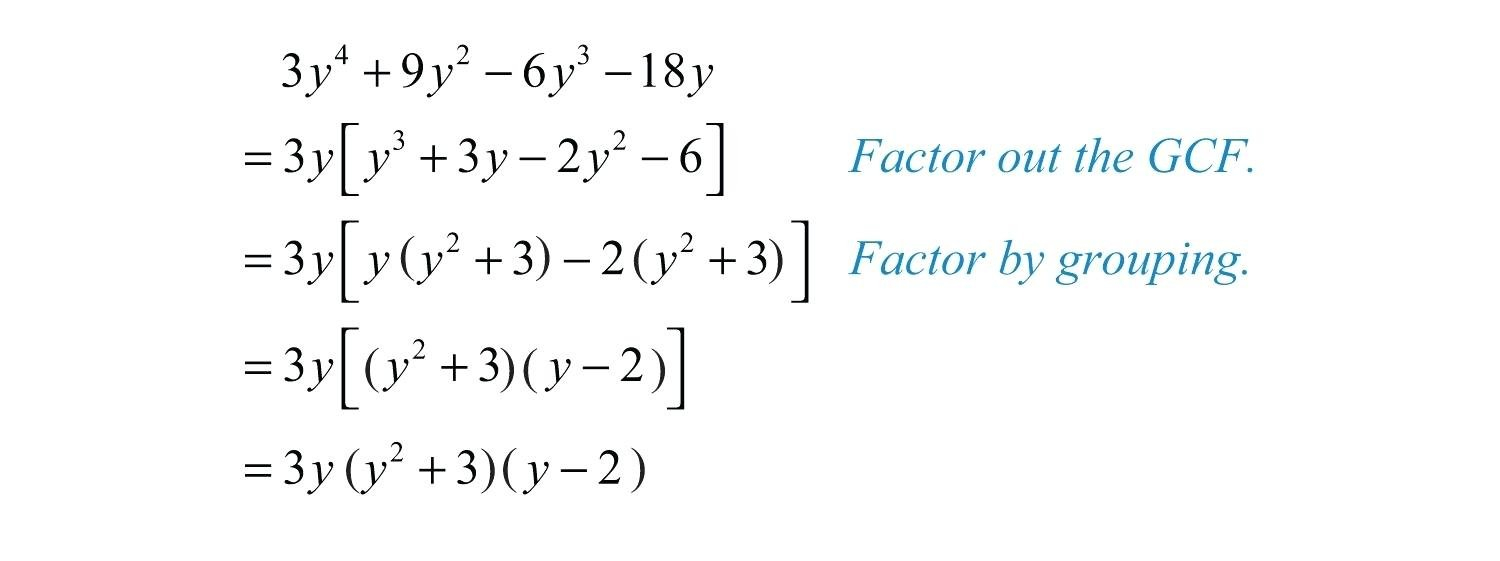 Factorgrouping Formula Math Questions What Is Factoring Also Factoring By Grouping Worksheet Algebra 2 Answers
