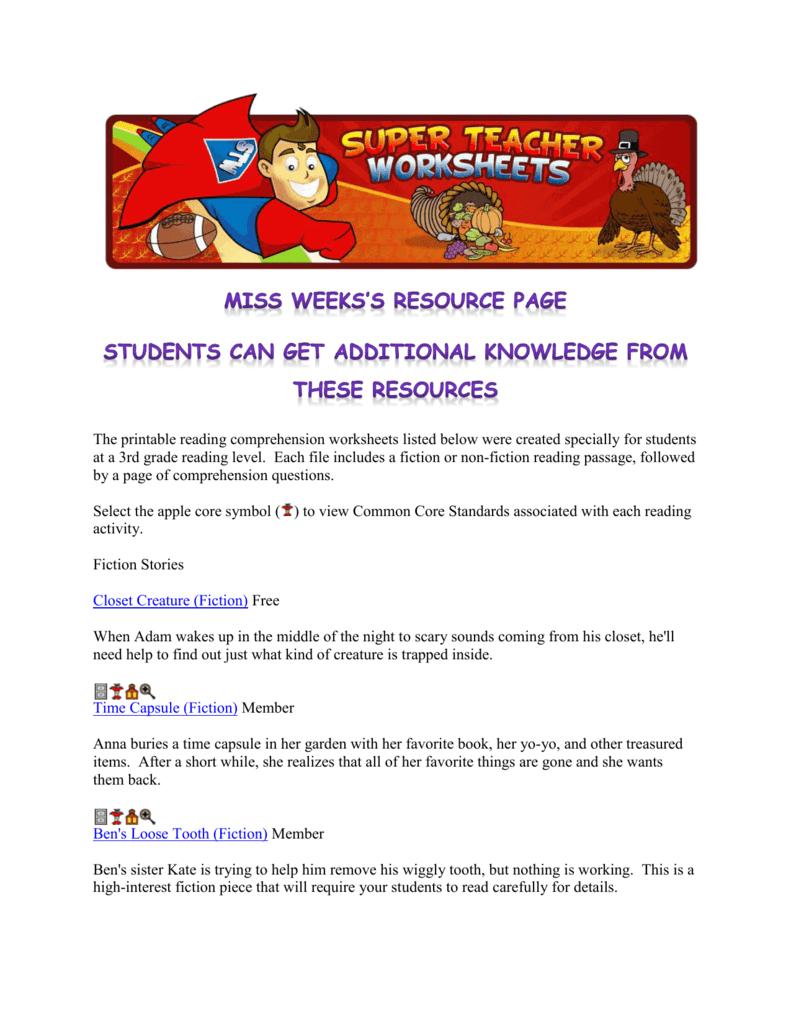 File And Animal Migration Super Teacher Worksheets