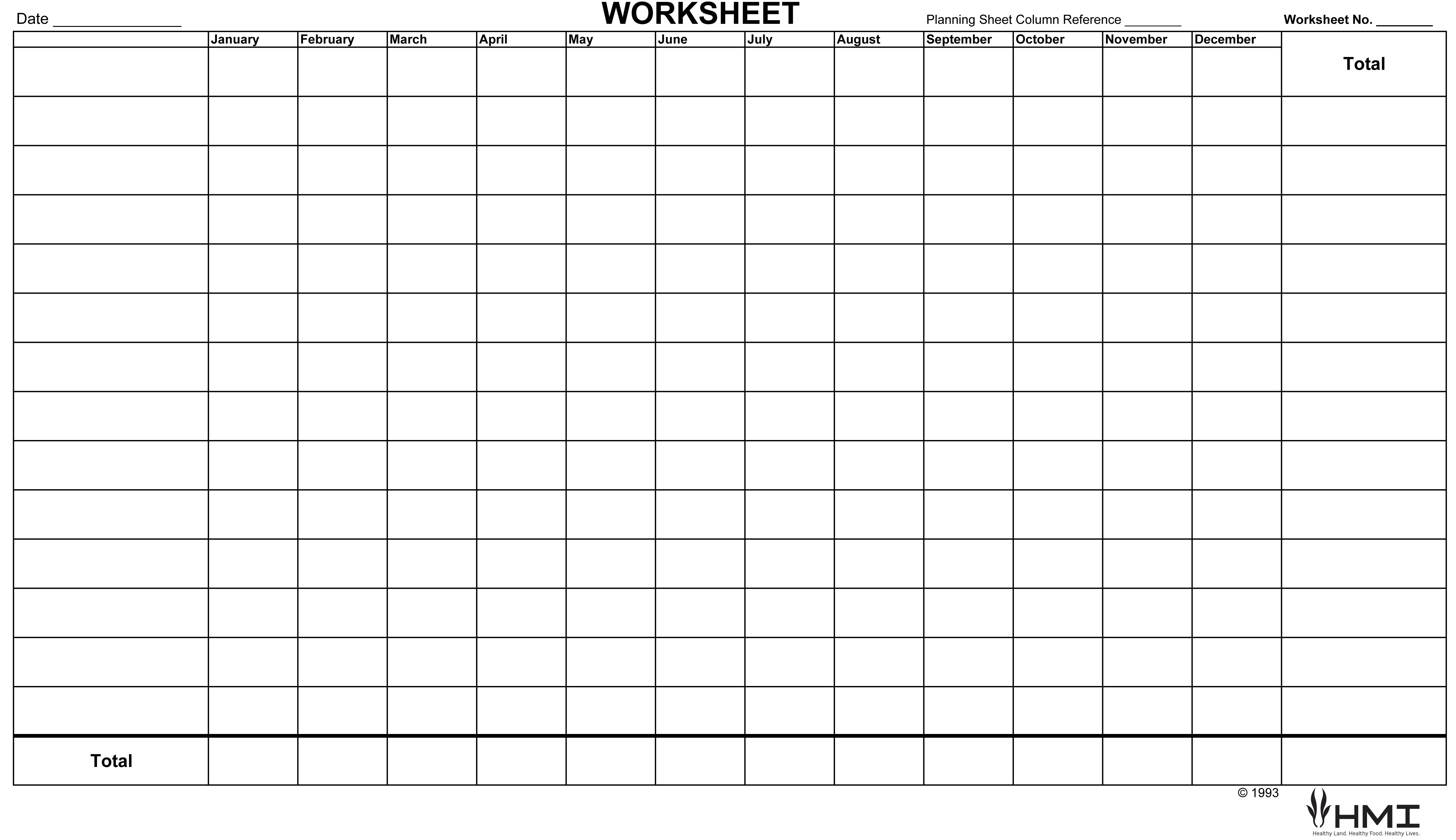 Financial Planning Worksheet  Holistic Management International Pertaining To Financial Planning Worksheet