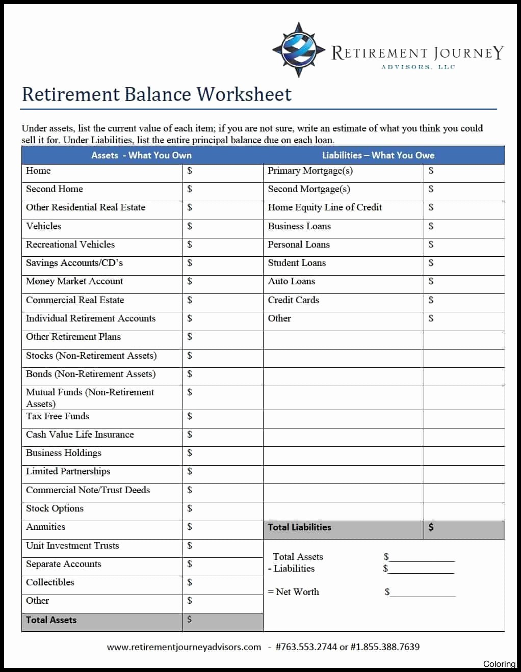 Financial Planning Worksheets Report Templates Personal Spreadsheet Within Financial Planning Worksheet