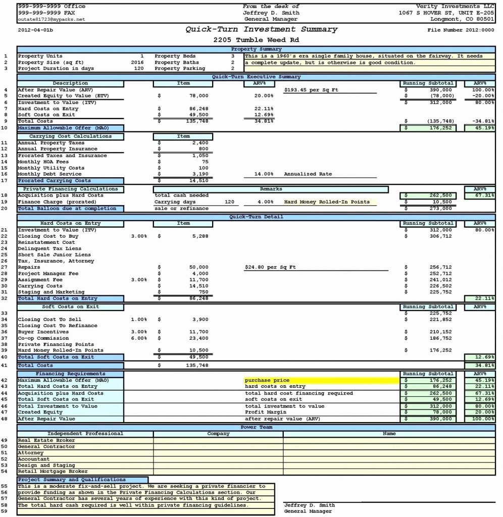Formidable Real Estate Excel Templates Template Ideas Investment Irr ... With Regard To Real Estate Development Spreadsheet