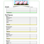 Free Budget Worksheet  Living Well Spending Less® Together With Budgeting For Dummies Worksheet
