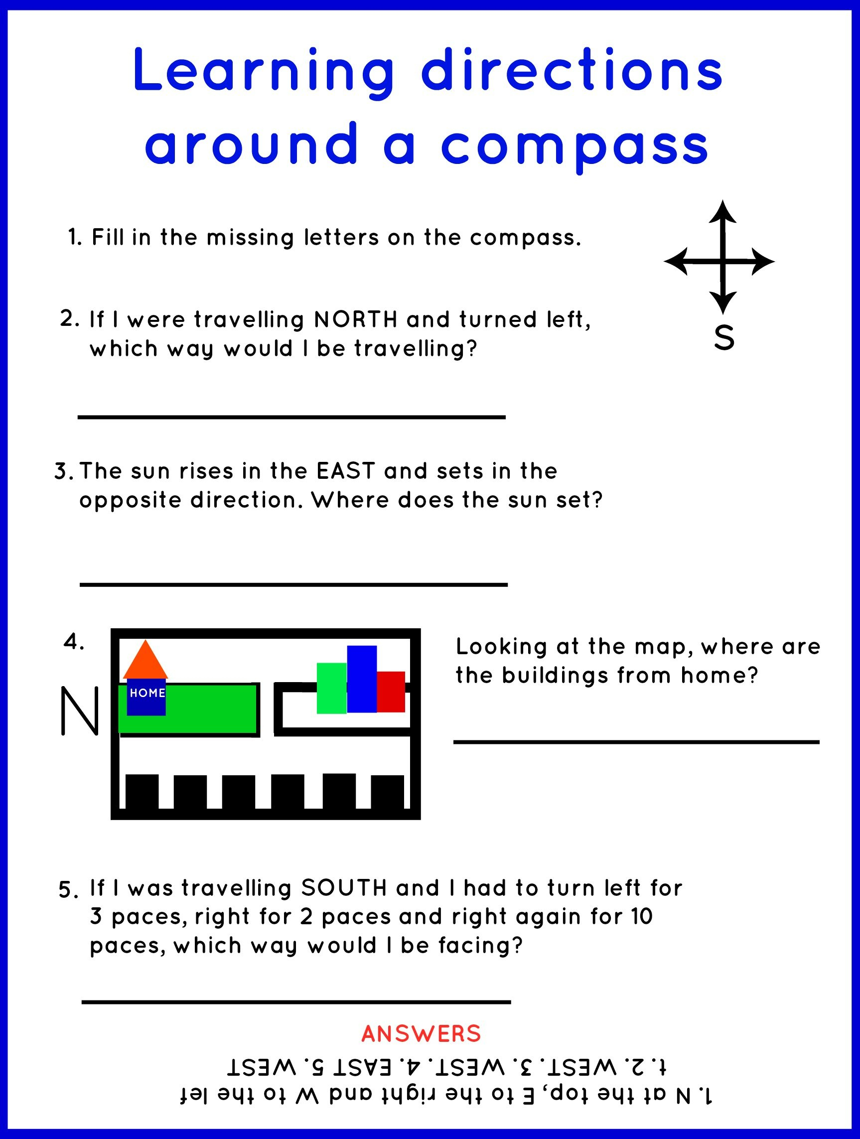 Free Compass For Kids Download Free Clip Art Free Clip Art On Or Compass Worksheets For Kids