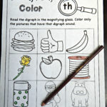 Free Digraph And Cvce Printables  The Kindergarten Connection With Th Worksheets Printable