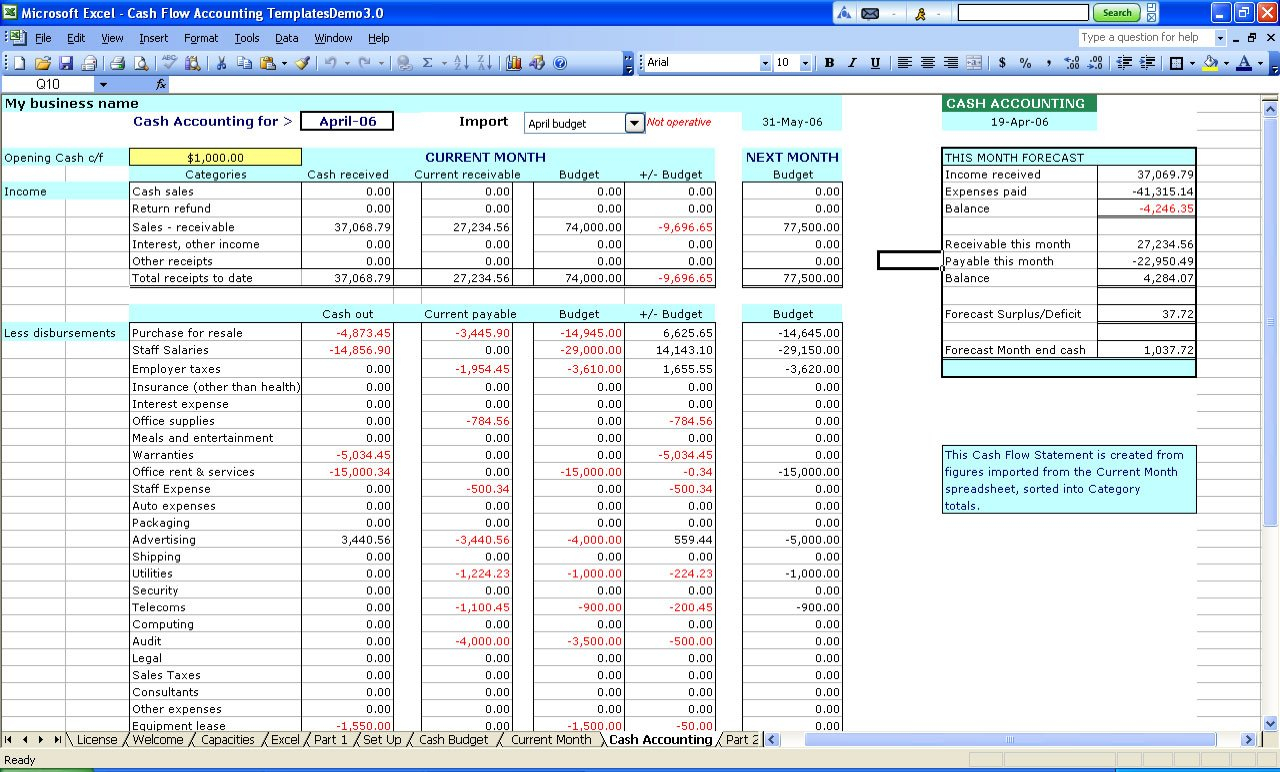 Free Excel Accounting Spreadsheets   Demir.iso Consulting.co For Accounting Spreadsheets Free