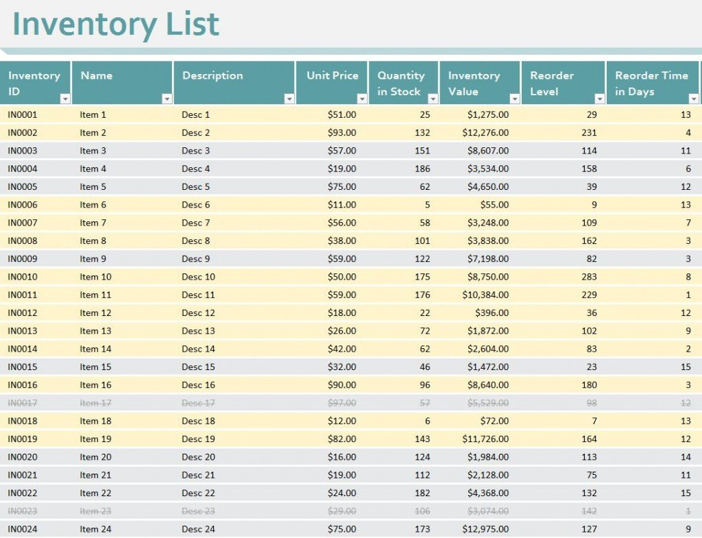 Free Excel Inventory Spreadsheet Template Pertaining To Sample Excel Inventory Spreadsheets