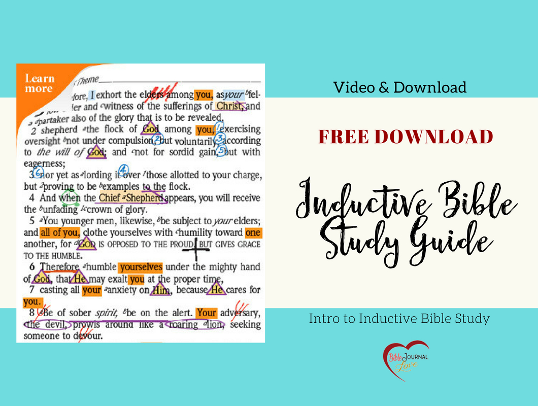 Free Inductive Bible Study Guide – Bible Journal Love Together With Free Inductive Bible Study Worksheets