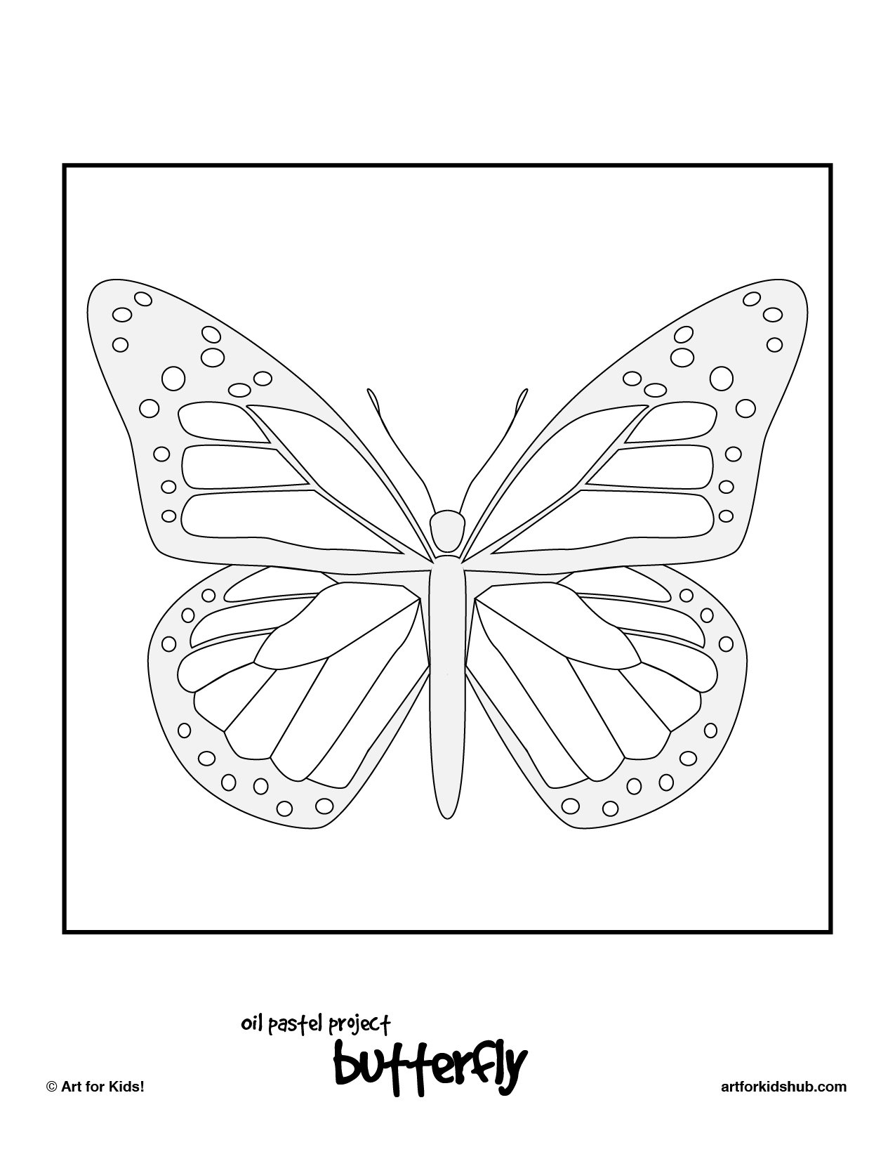 Free Monarch Butterfly Template Download Free Clip Art Free Clip With Monarch Butterfly Worksheets