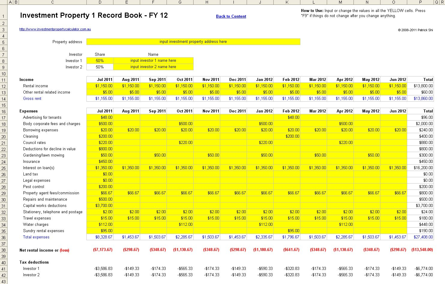 Free Rental Property Management Spreadsheet In Excel With Regard To Rental Income Property Analysis Excel Spreadsheet