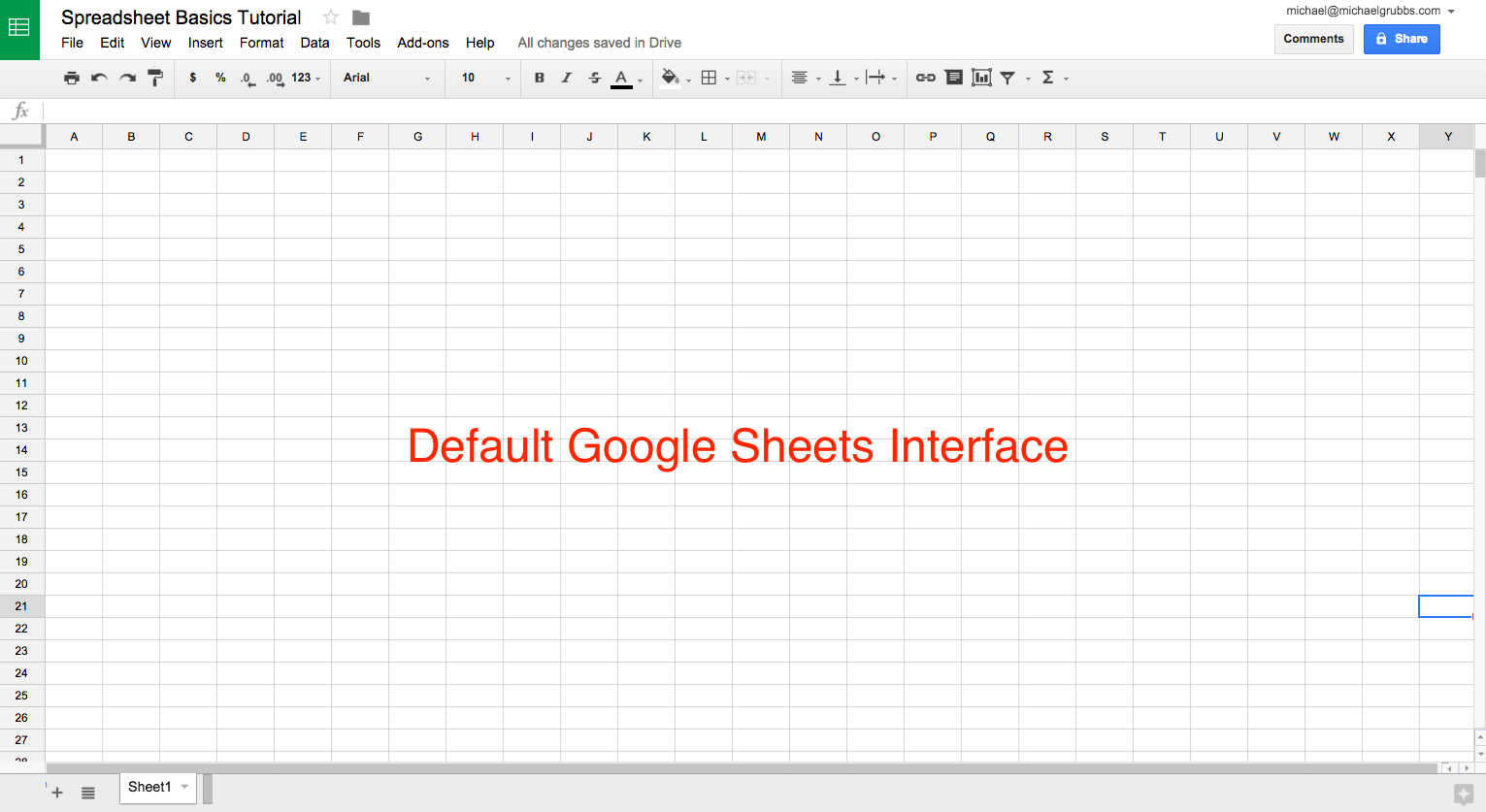 Google Sheets 101 The Beginner's Guide To Online Spreadsheets  The And Docs Google Com Spreadsheets
