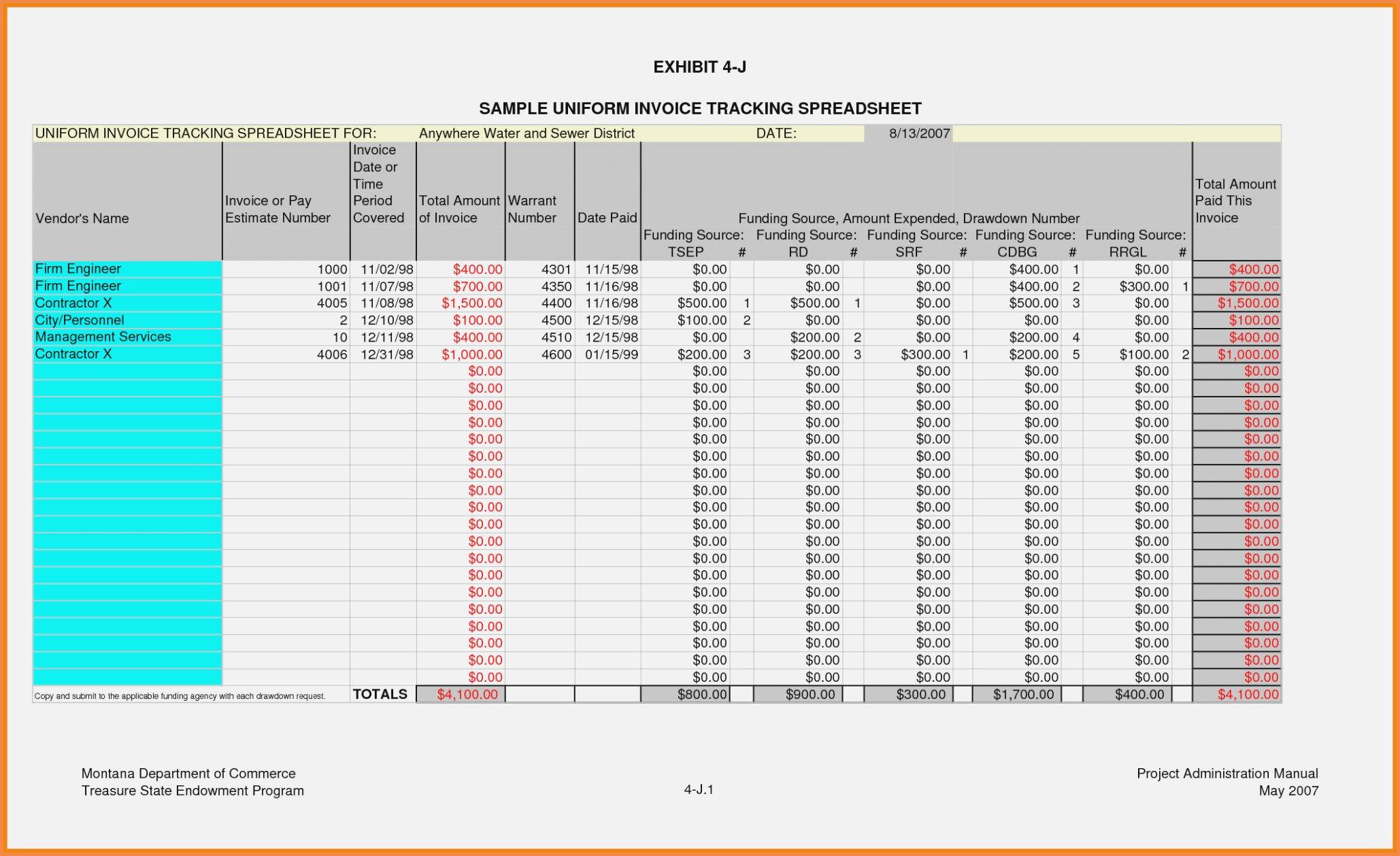 Grant Tracking Spreadsheet Inspirational 14 Best Money Tracking ... With Regard To Grant Tracking Spreadsheet Template