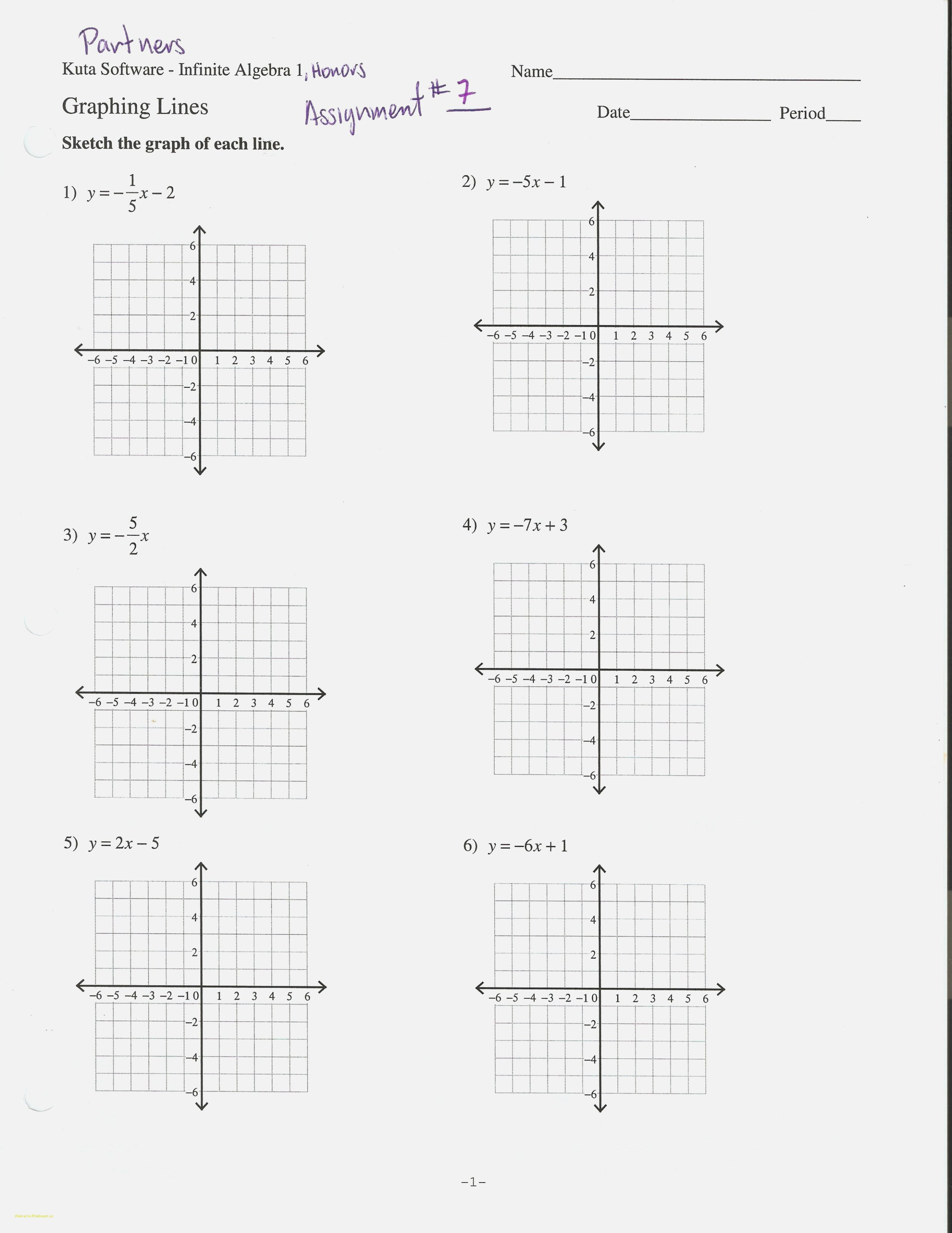 Graph Lines In Standard Form Worksheet Best Of Graphing Slope With Graph Lines In Standard Form Worksheet