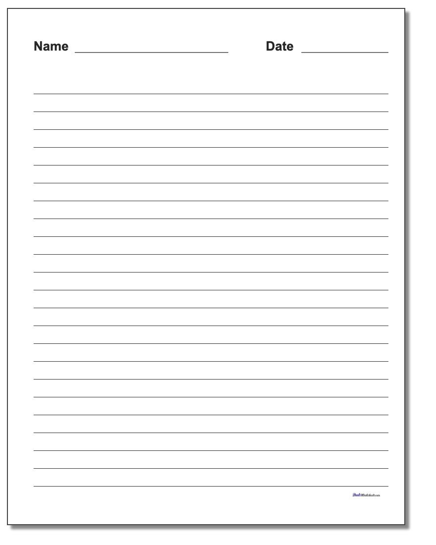 Handwriting Paper Also Handwriting Worksheets For Adults Pdf