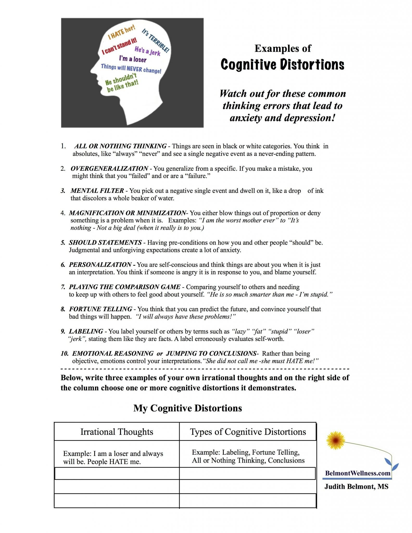 Health And Wellness Worksheets  Briefencounters Within Health And Wellness Printable Worksheets