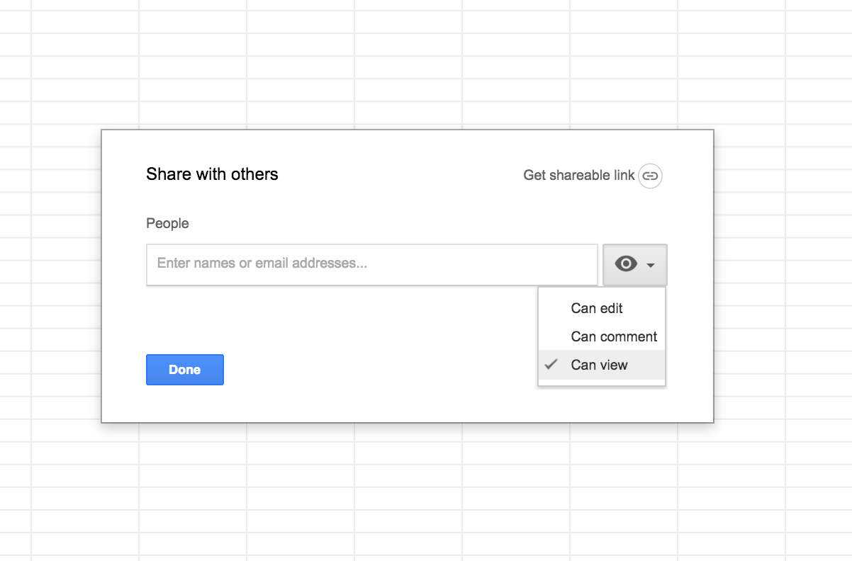 How Do I Share A Google Sheet With 'read Only' Permissions?   Web ... With Google Docs Shared Spreadsheet