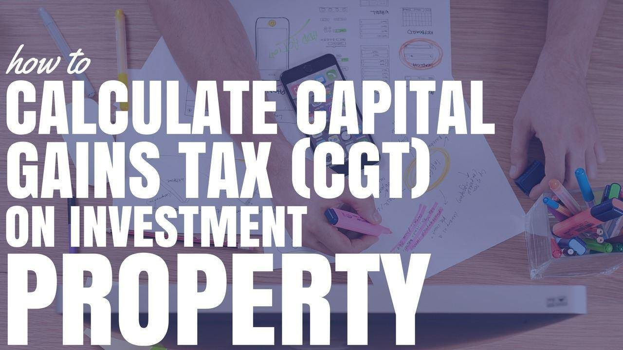 How To Calculate Capital Gains Tax (Cgt) On Investment Property Regarding Capital Gains Tax Spreadsheet Australia