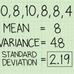 How To Calculate Standard Deviation 12 Steps With Pictures Intended For Standard Deviation Worksheet With Answers Pdf