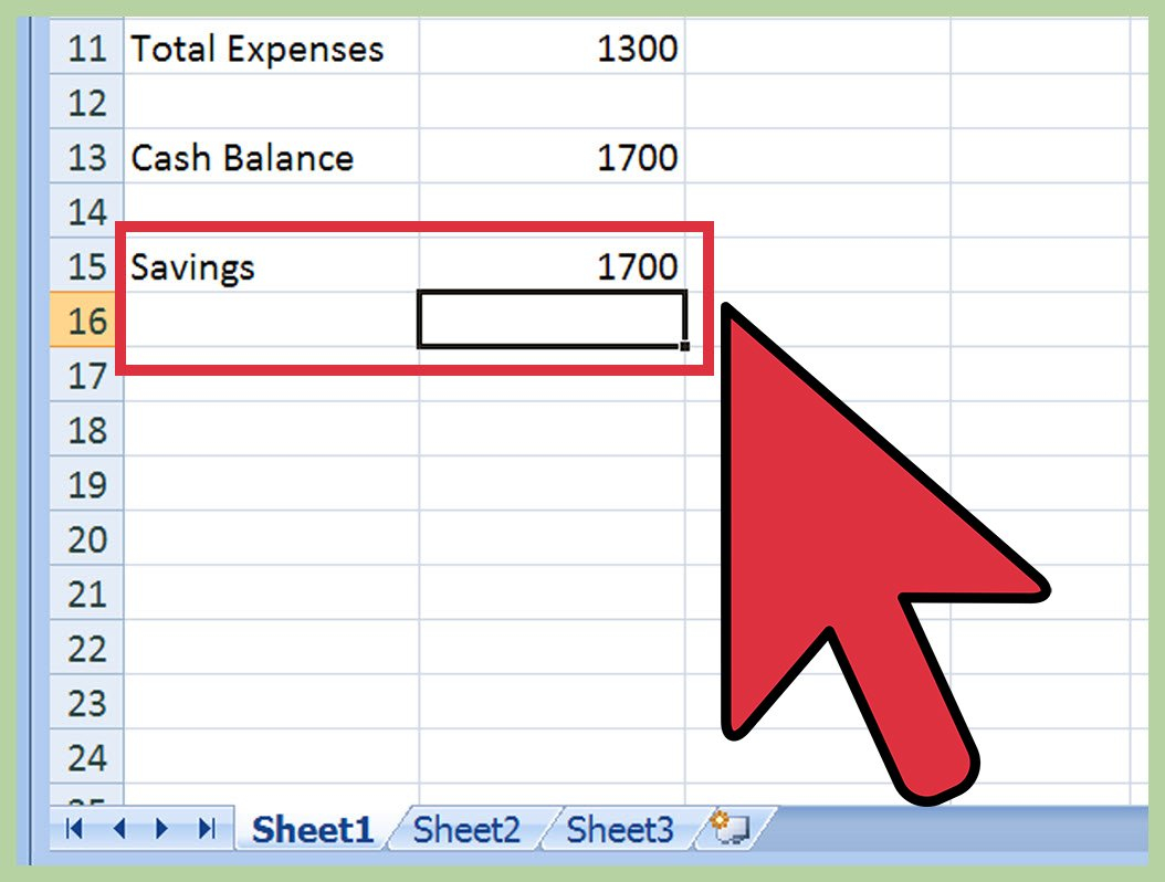 How To Create A Budget Spreadsheet (With Pictures)   Wikihow Inside How To Make A Good Budget Spreadsheet