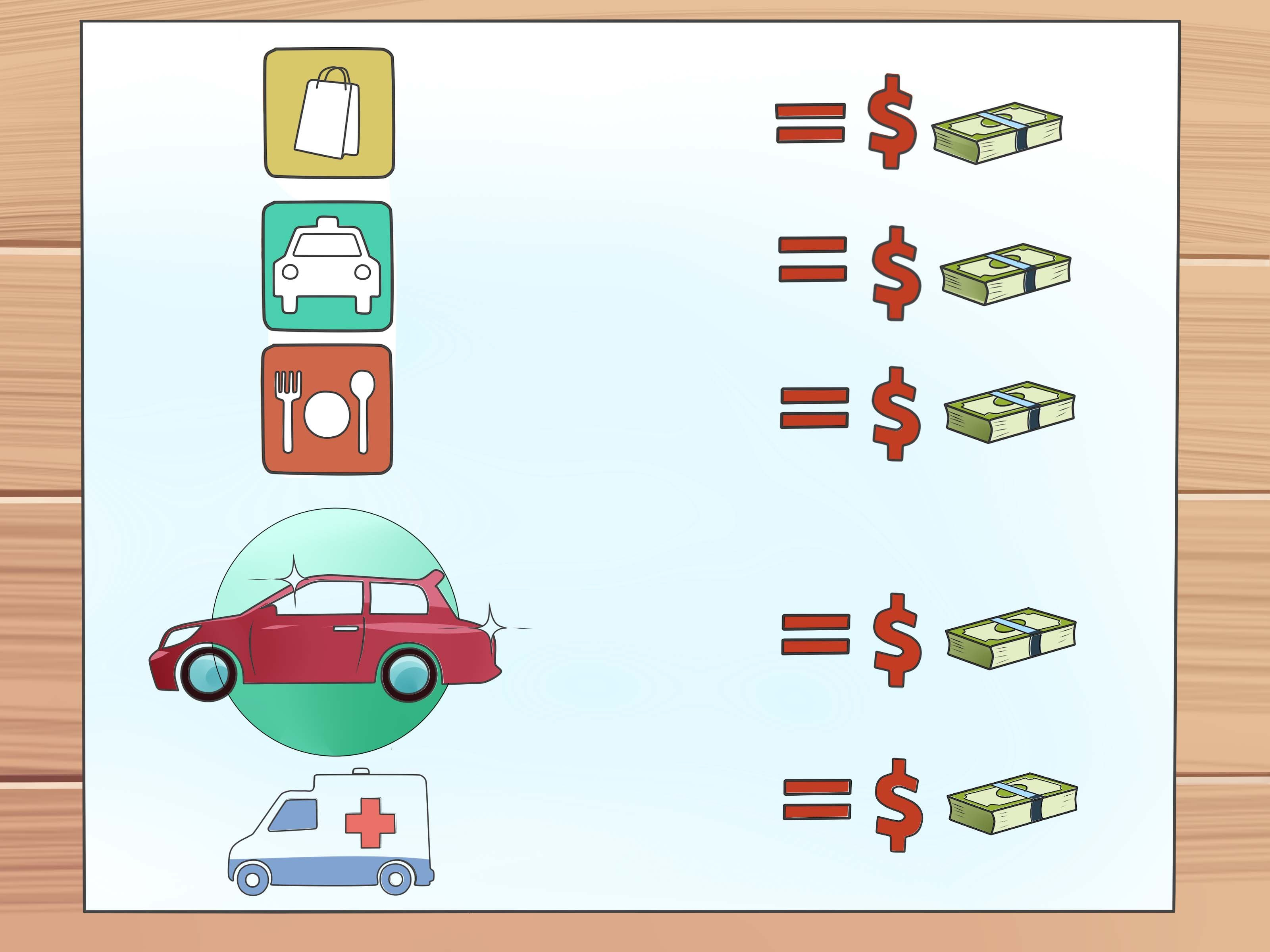 How To Create A Household Budget (With Examples)   Wikihow As Well As How To Make Home Budget Plan