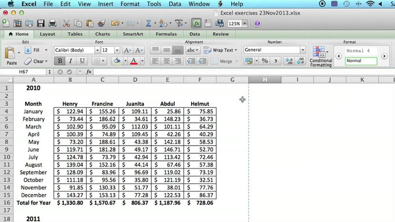 How To Save An Excel Spreadsheet To Look Like A Single Page : Using ... In How Do You Do An Excel Spreadsheet