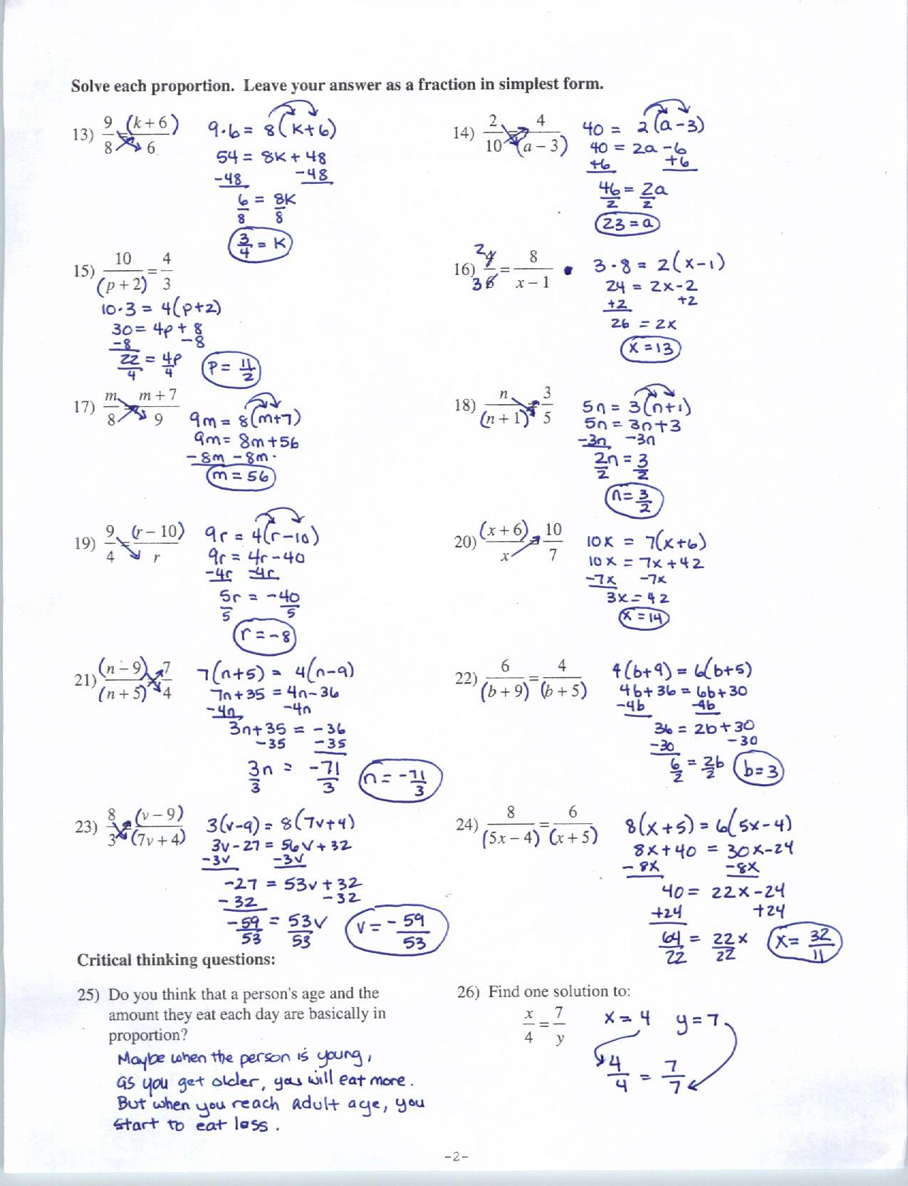 Ideas Collection Algebra 1 Worksheet Answers Worksheets Best Intended For Algebra 1 Worksheets And Answer Key