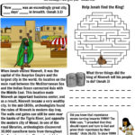 Jonah Worksheet Nineveh – Bible Pathway Adventures Also Free Bible Worksheets For Kids