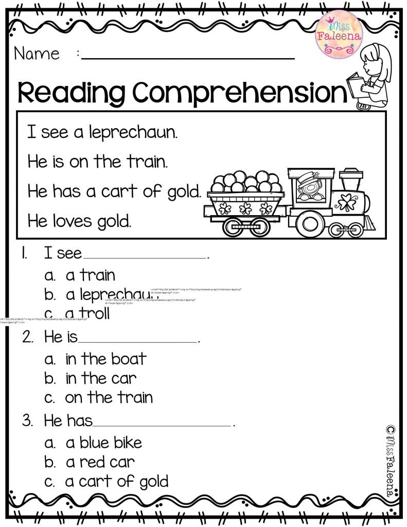 Kindergarten Lds Primary Newsletter Template 5Th Grade Halloween Pertaining To Free Science Reading Comprehension Worksheets