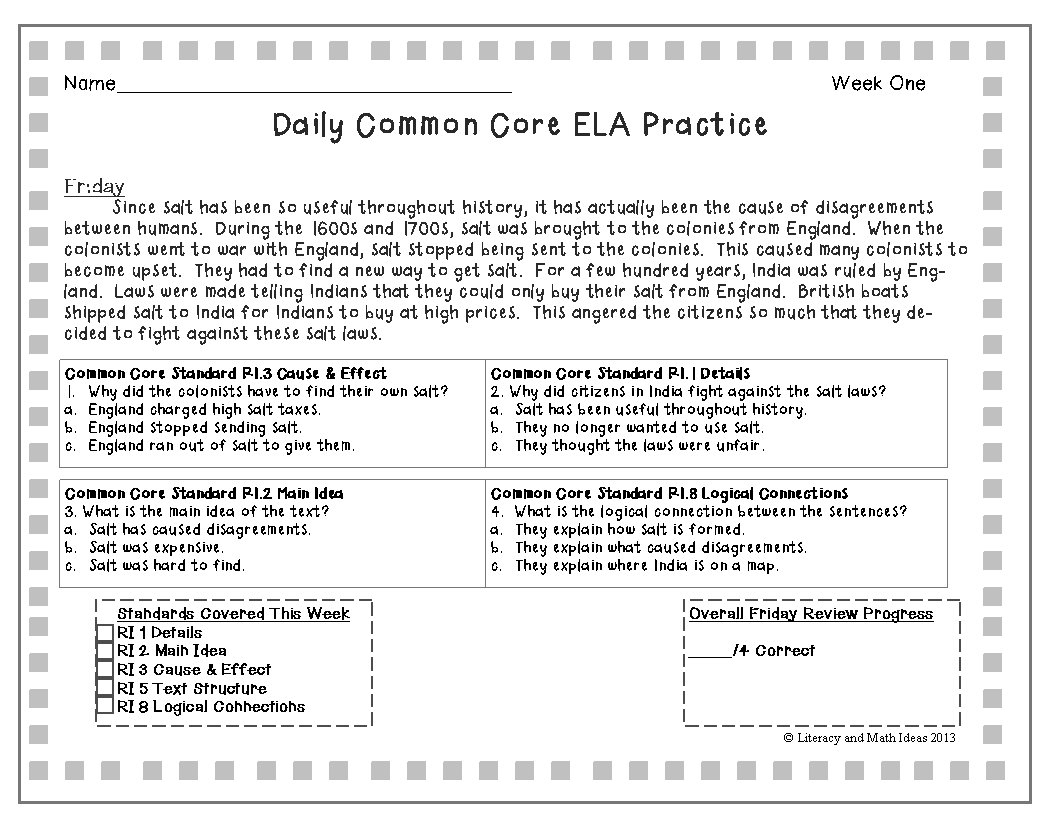 Main Idea Worksheets 4Th Grade For Free  Math Worksheet For Kids And Ri 4 4 Worksheets