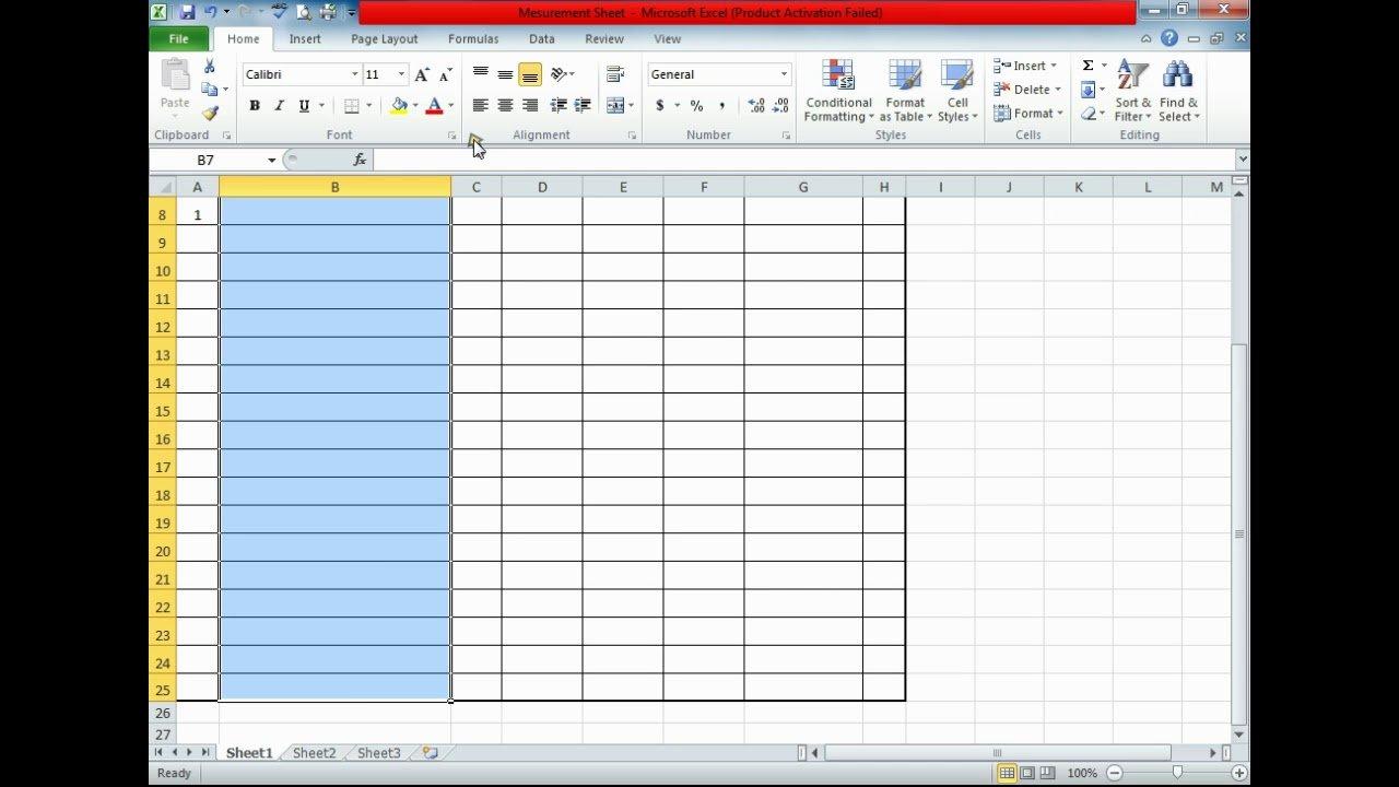 Make Measurement Sheet For Quantity Surveyors Video 1 - Youtube Also Quantity Surveyor Excel Spreadsheets