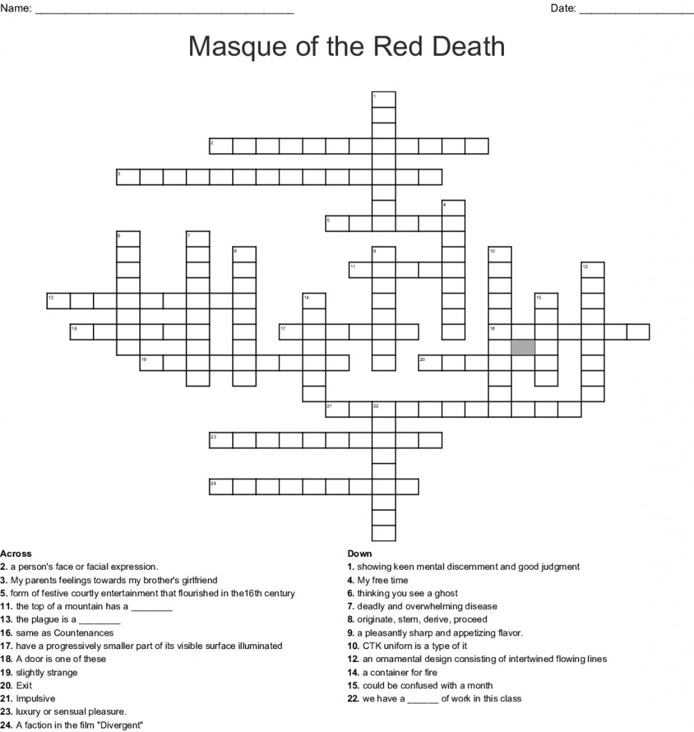 Masque Of The Red Death Worksheet Answers Imagery Allegory Analyzing For Masque Of The Red Death Symbolism Worksheet Answers