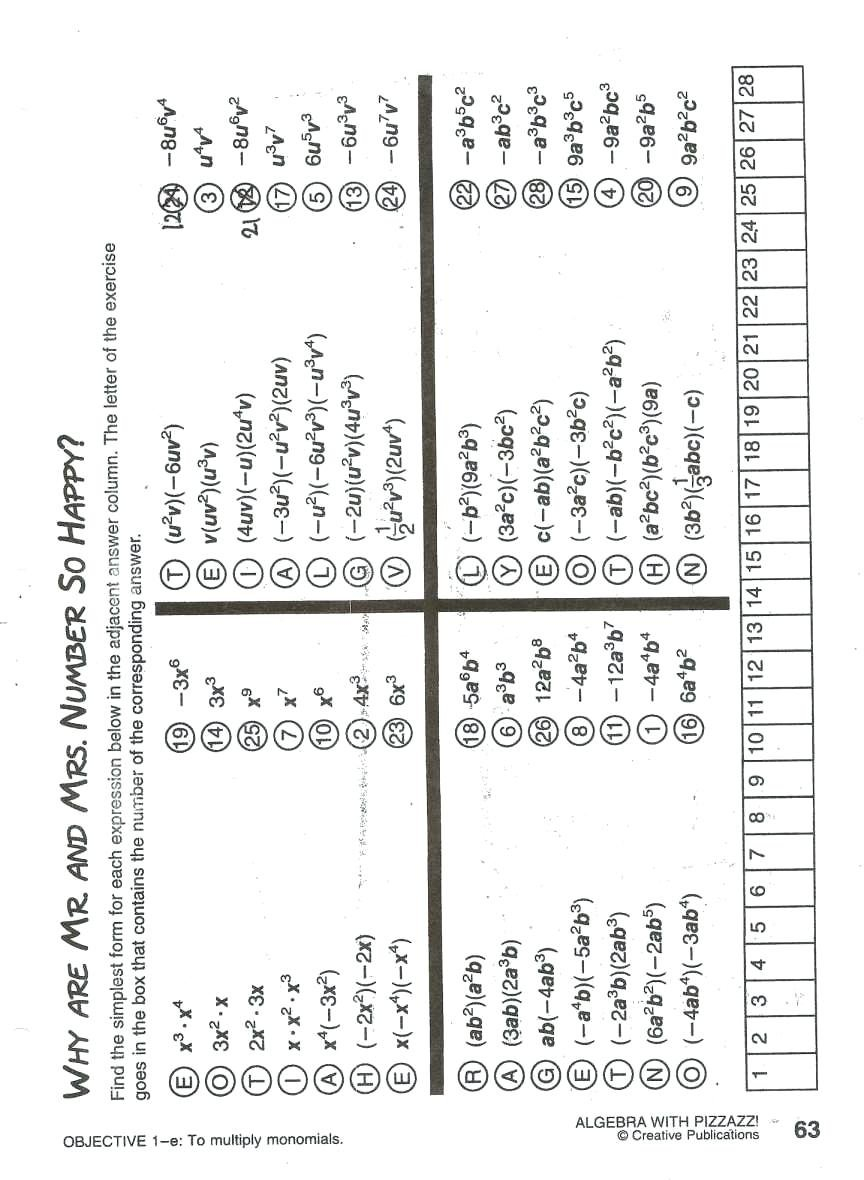 Math Worksheet Answers Subtraction Worksheets Population Math Along With Algebra With Pizzazz Worksheet Answers