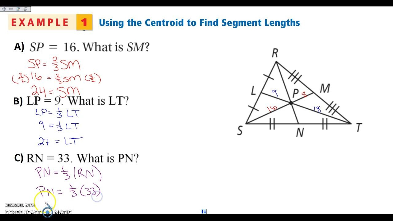 Mfas C Medians And Centroids Worksheet Answers Simple Angles Regarding Medians And Centroids Worksheet Answers