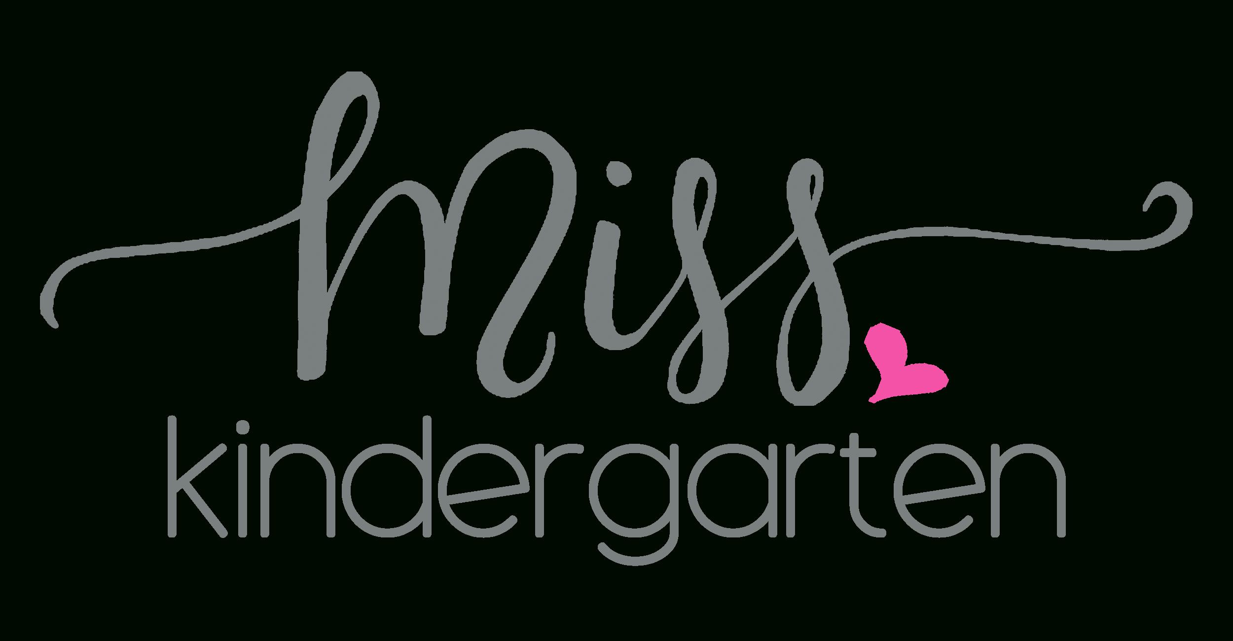 Miss Kindergarten Kindergarten Blog With Regard To Miss Kindergarten Worksheets
