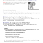Normal Distributions On The Ti8384 The Normal Probability With Standard Deviation Worksheet With Answers Pdf