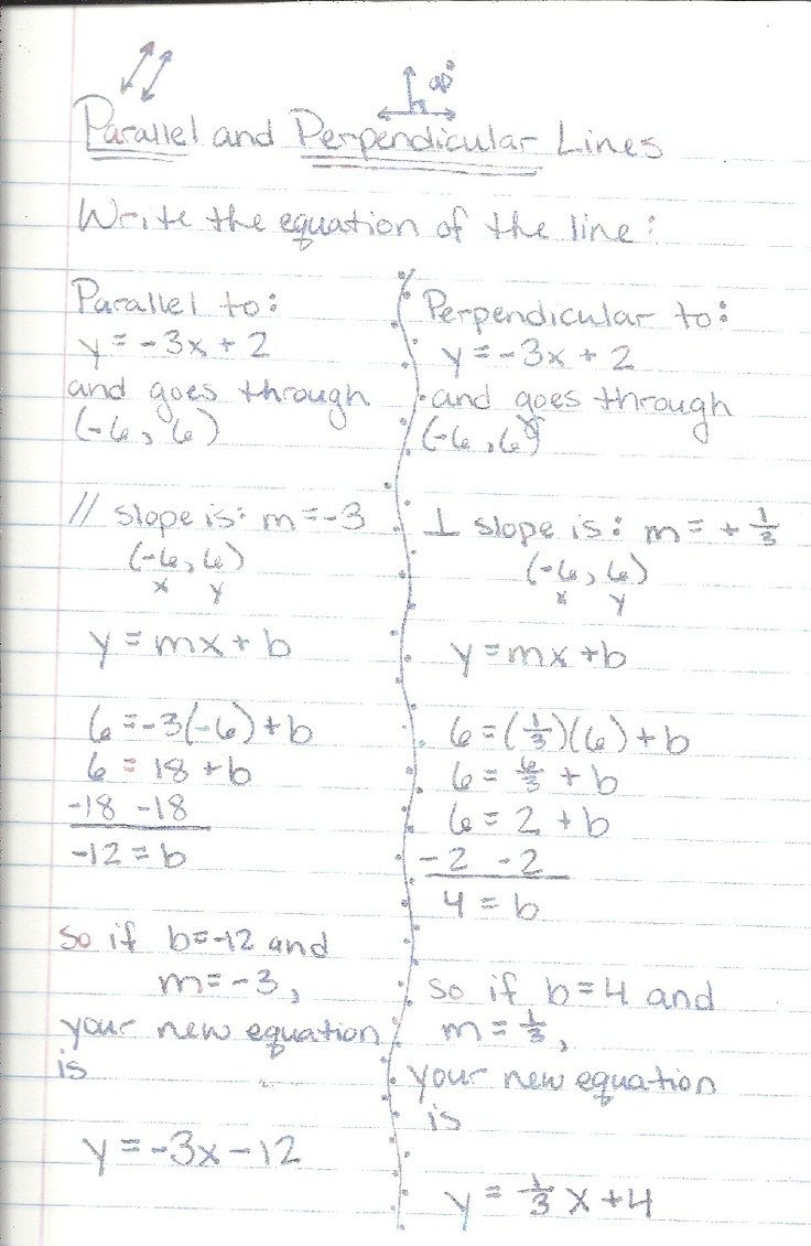 Parallel And Perpendicular Lines Worksheet Answers  Yooob Pertaining To Equations Of Lines Worksheet Answer Key
