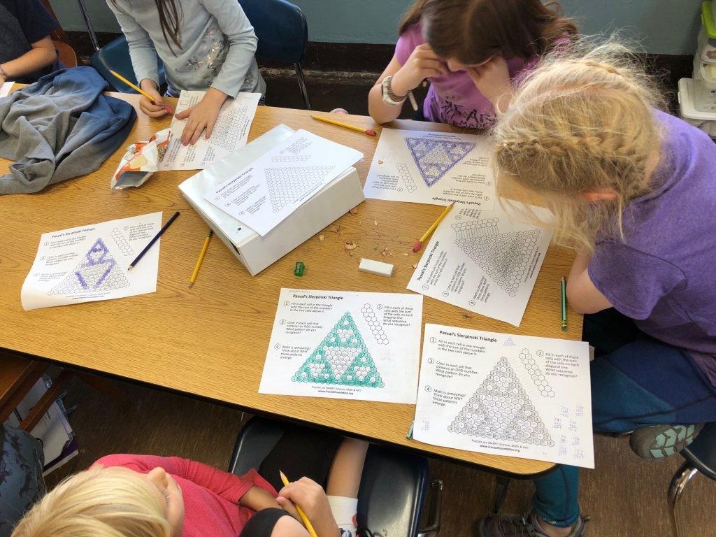 Pascal's Sierpinski Triangle – Fractal Foundation Also Sierpinski Triangle Worksheet Answers