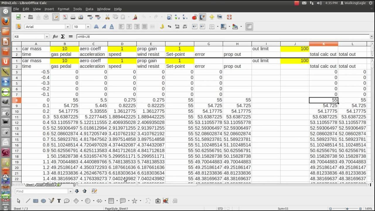 Pid Step 1 - Proportional Only Control. - Youtube Along With Pid Loop Tuning Spreadsheet