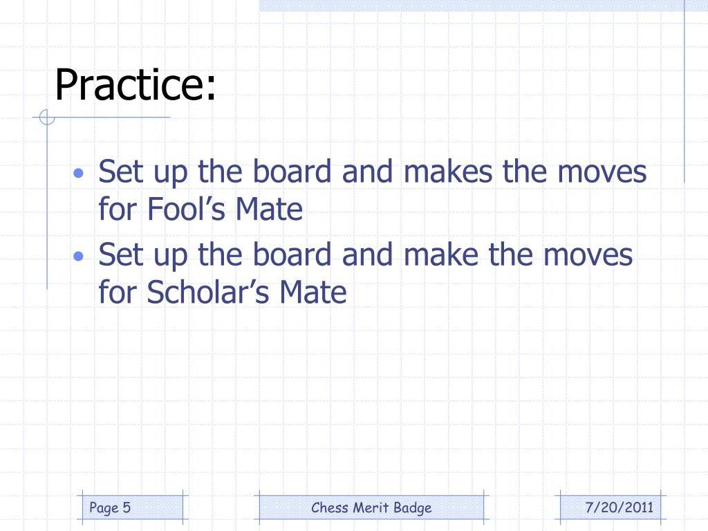 Ppt  Chess Merit Badge Powerpoint Presentation  Id439443 Throughout Chess Merit Badge Worksheet