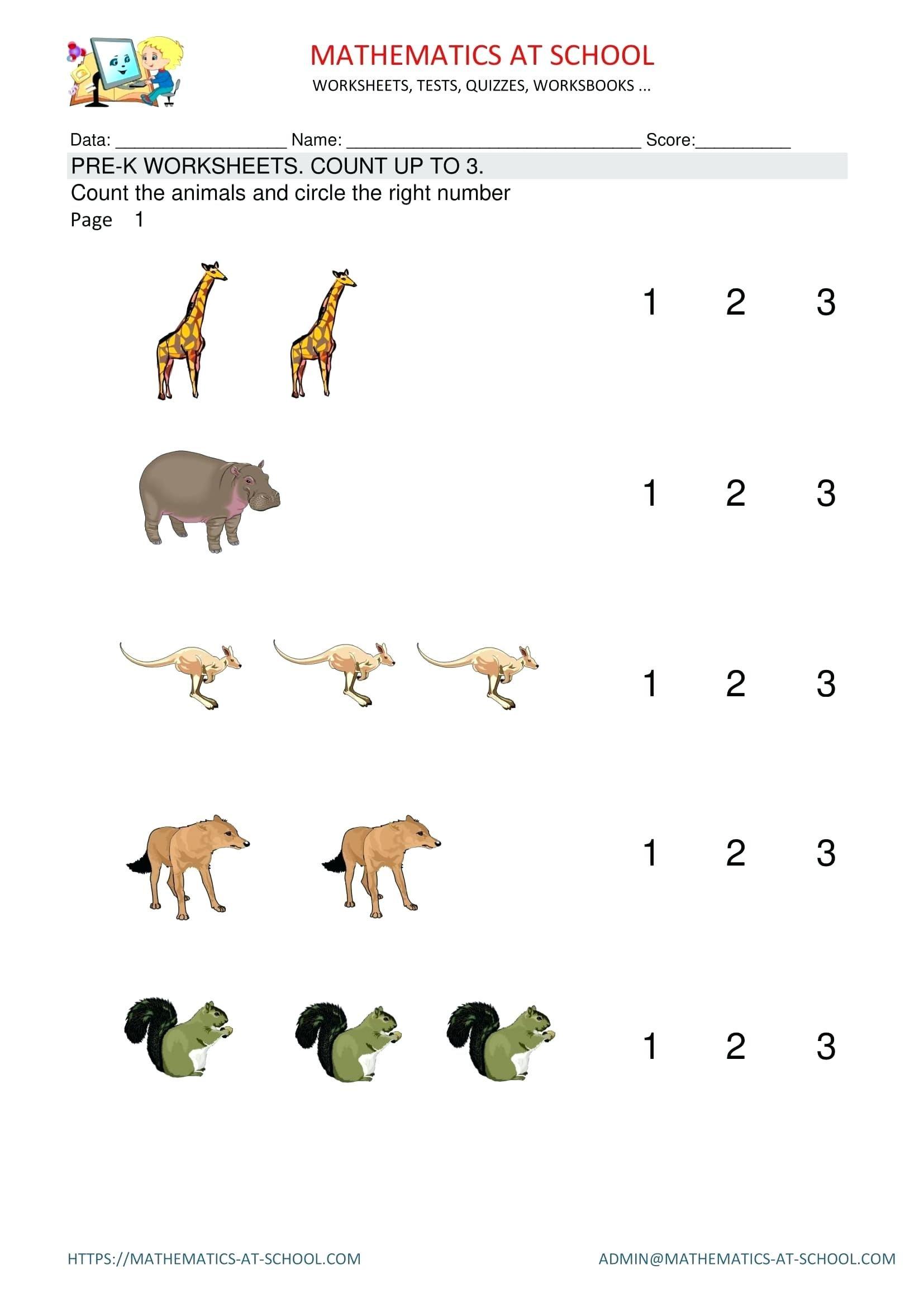 Pre K Printables Math K Math Kid Projects Maths Math Preschool Math Throughout Pre K Math Worksheets