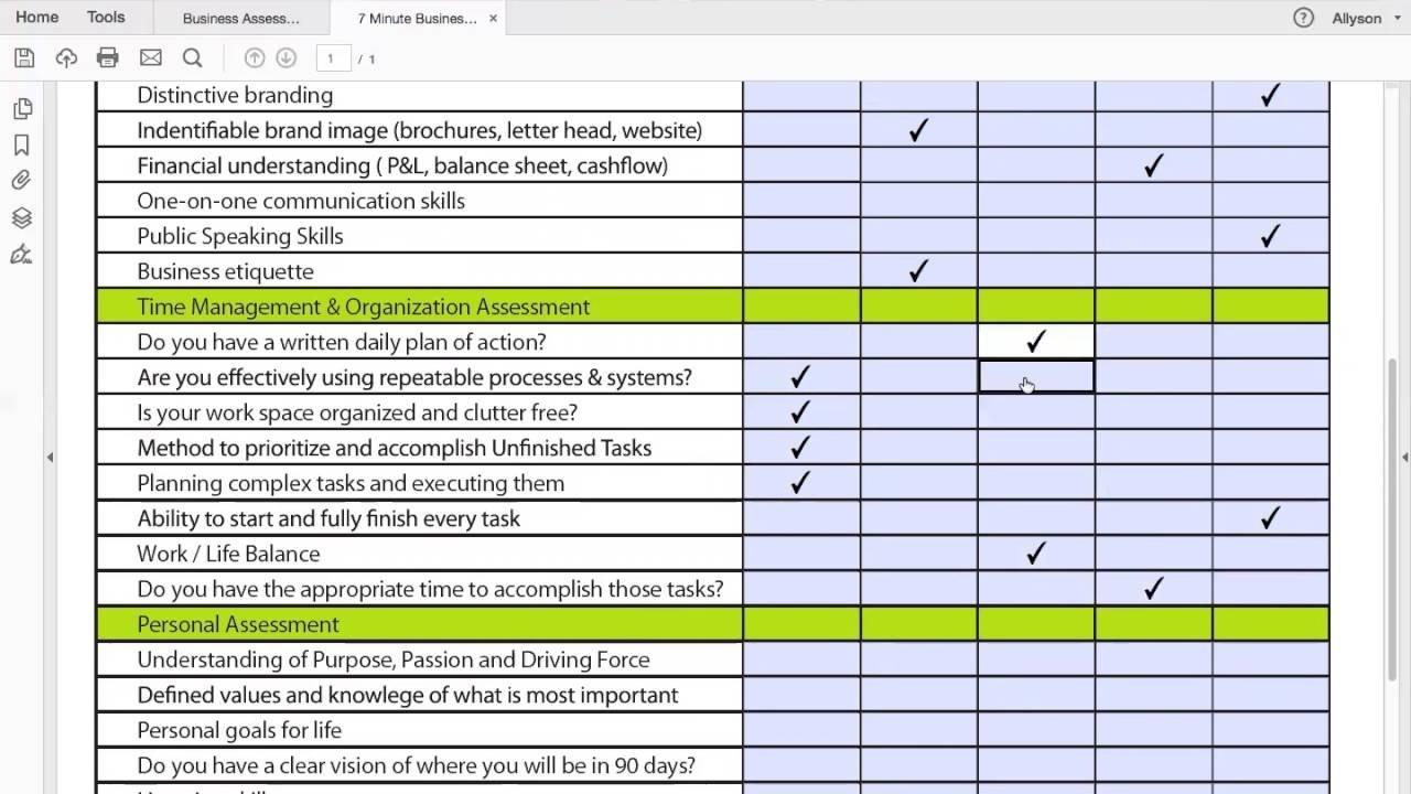 Project Management Worksheet - Is Your Business Model Broken? - Youtube Regarding Project Management Worksheet