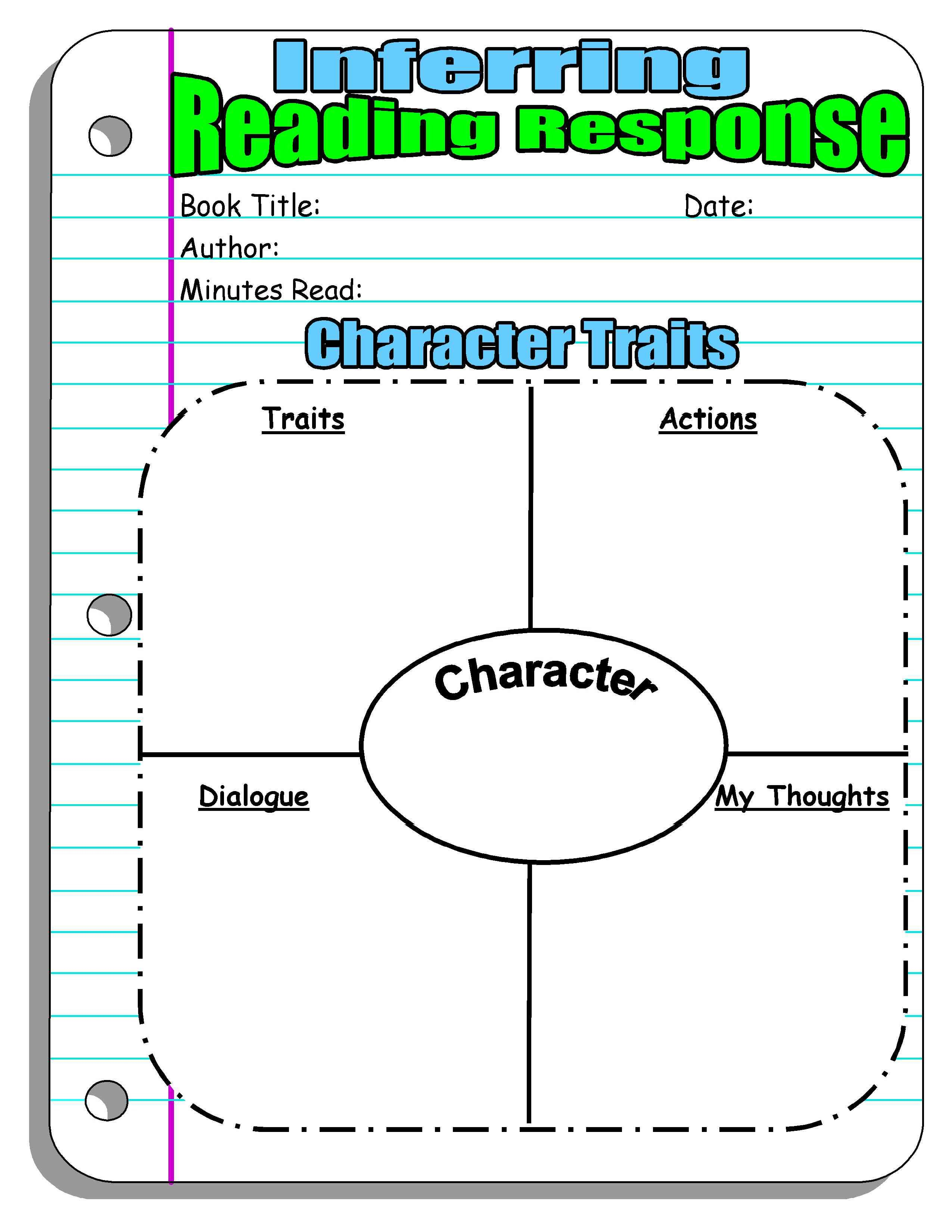 Reading Response Forms And Graphic Organizers  Scholastic For Race Writing Strategy Worksheet