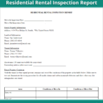Rental Inspection Report  Property Inspection Checklist Form Us Throughout Home Inspection Worksheet